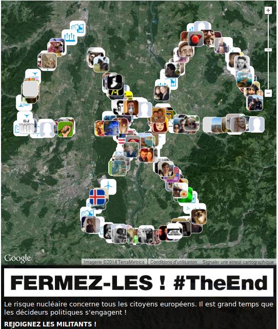 de + en + nombreux à les soutenir virtuellement! rejoignez les militants à #Fessenheim http://t.co/wP1xOjYGMA #TheEnd http://t.co/6eAwJWP9ef