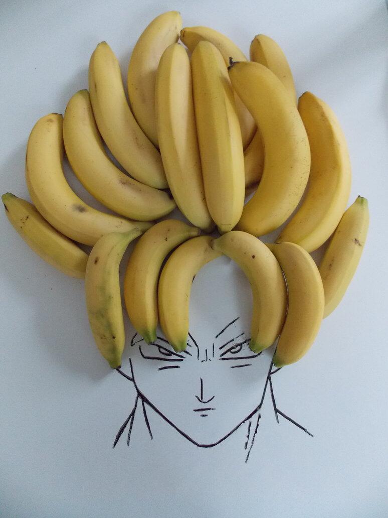 Банан прикольный рисунок