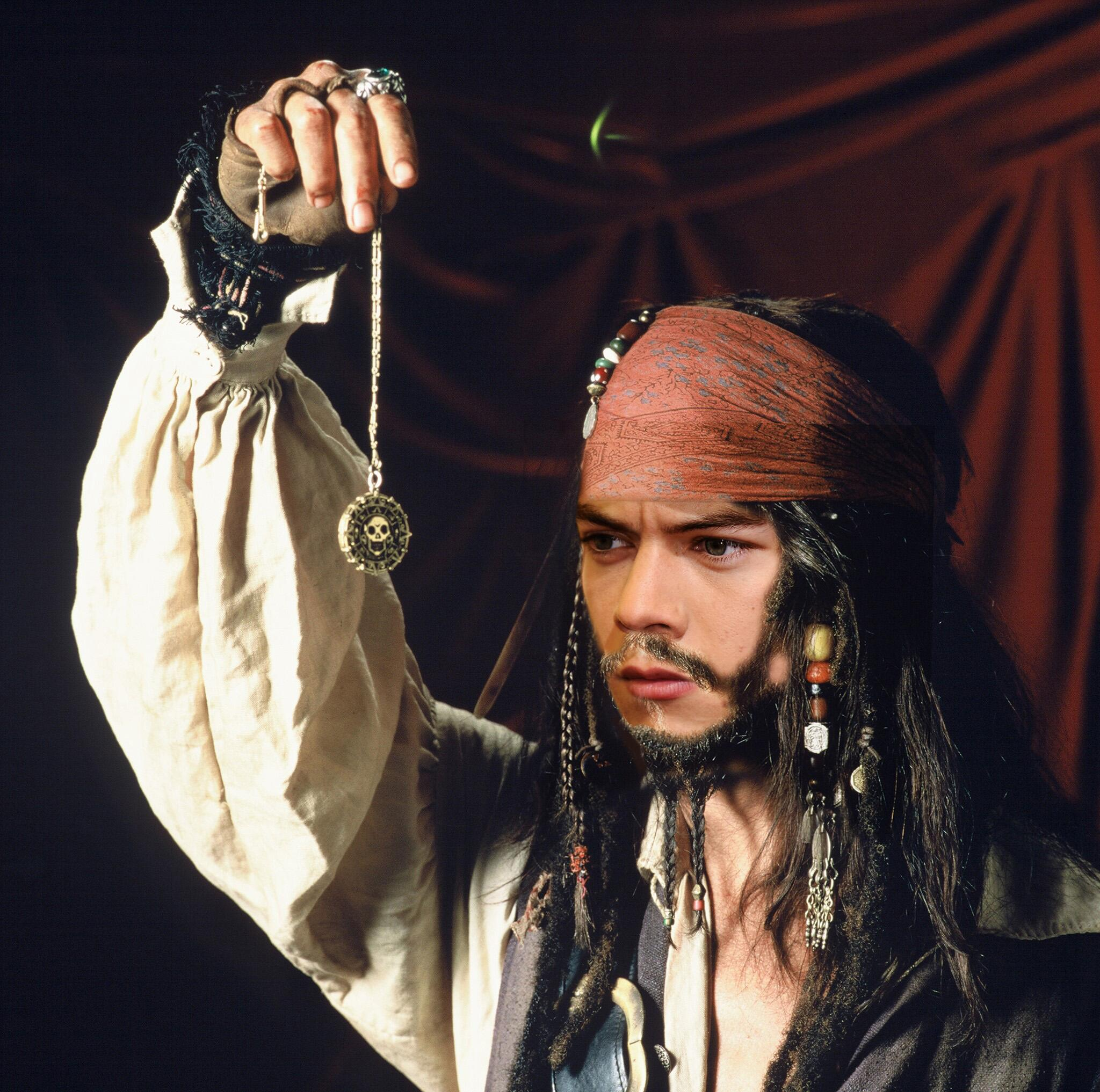 How about @Harry_Styles as Capt. Jack Sparrow? http://t.co/lcEy8O19ww http://t.co/2y3POIHEPe