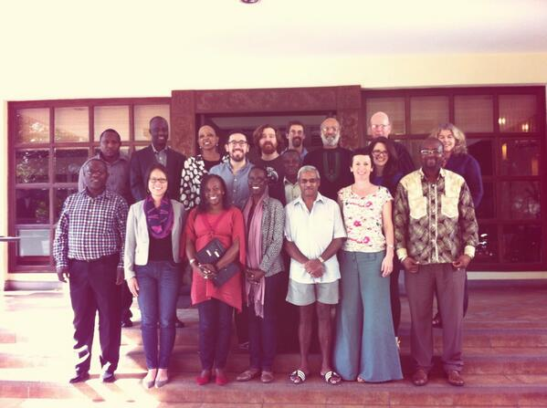 #scholarAfrica Discoverability Workshop group photo