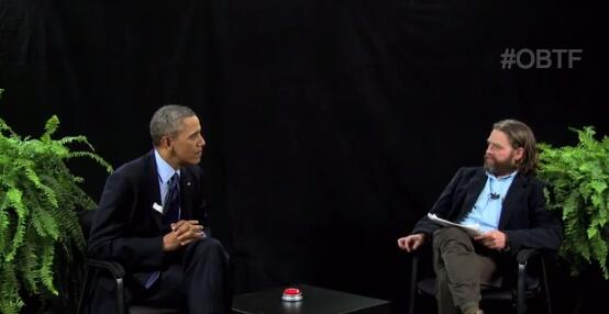 "Watch ""community organizer"" Barack Obama's appearance on Zach Galifianakis' Between Two Ferns http://t.co/7yvkr9uVEC http://t.co/HD7Bd0FPRX"