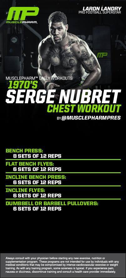 Serge Nubret Forever Workout 1 12