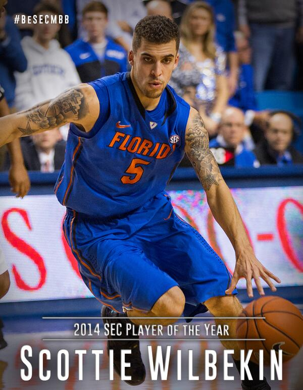 Scottie Wilbekin named the SEC Player of the Year http://t.co/PTwDknc44r