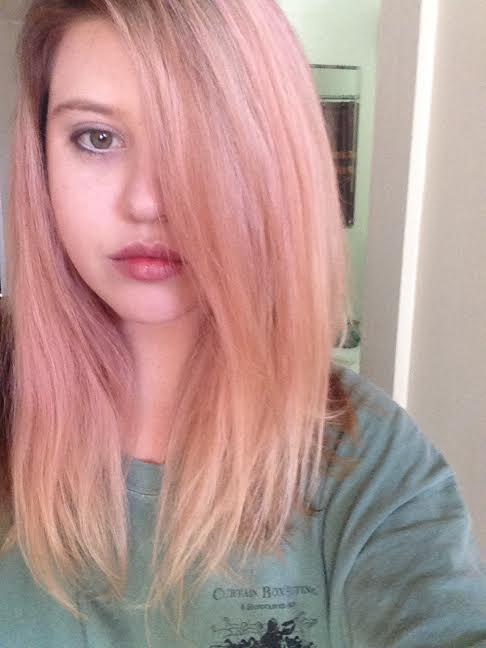 Strawberry Blonde On Twitter Carly S Client Wanted Pastel Pink In