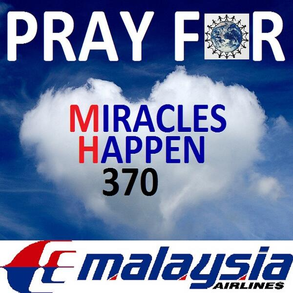 Impossible Situations can become Possible Miracles IN SYA ALLAH  #MiraclesHappen370 #DoakanMH370 #PrayForMH370 #MH370 http://t.co/XWrFXVoFh9