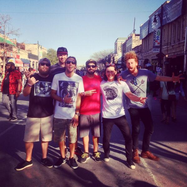 . @iration we couldn't be happier to see these guys tomorrow night at flamingo cantina in #SXSW2014 #SXSW #SXSW14 http://t.co/egN1VYoEt7