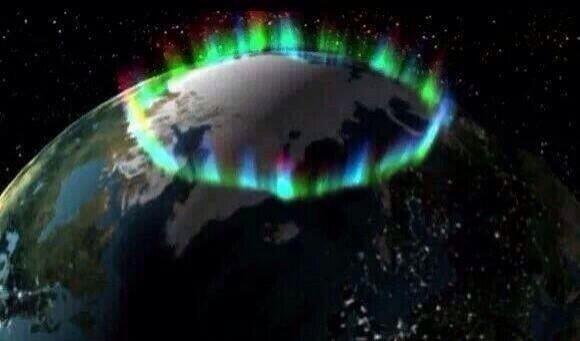 Earth's Crown of Lights The northern lights from space http://t.co/C4MxtEPuXw