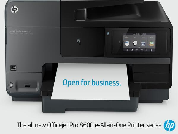 Hp On Twitter Our Expanded Officejet Pro 8600 Series Is The Smart