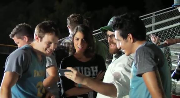 New BTS @IntramuralMovie http://t.co/J2qWttWvHI @NikkiReed_I_Am http://t.co/KMn8bLWSiW