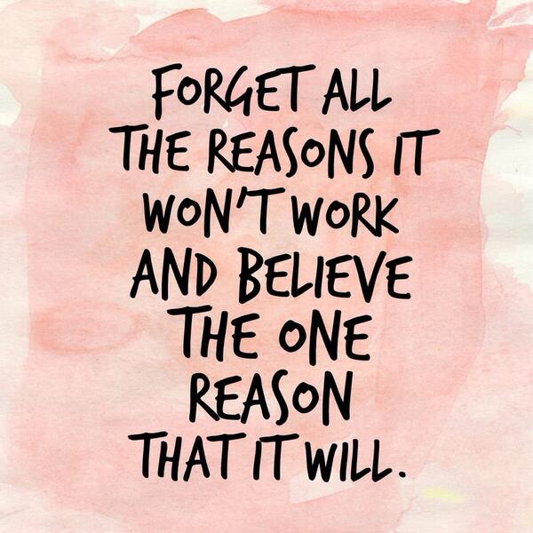 """Bianca JuarezOlthoff on Twitter: """"Forget all the reasons it won't ..."""
