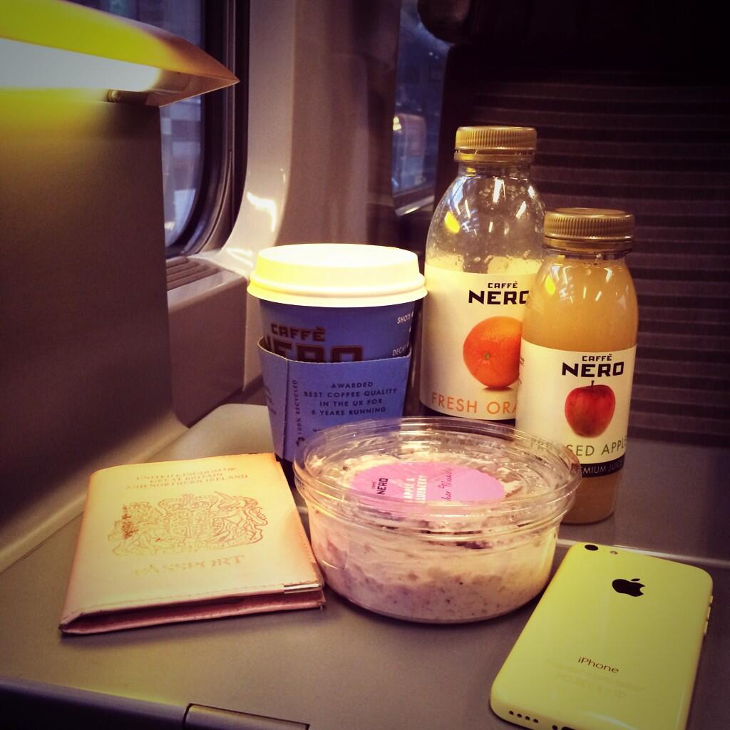 Early morning @EurostarUK to a @EurostarUK meeting. Coffee. Coffee. Coffee. http://t.co/WUwHQV70i1