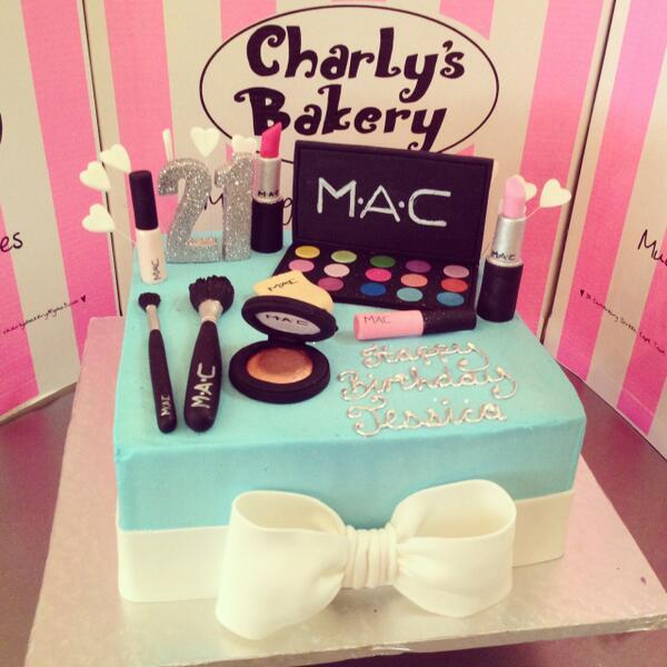 Charlys Bakery on Twitter MuckingAfazing MACcosmetics themed