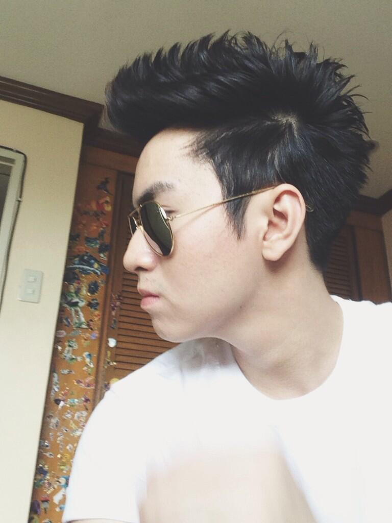 Vhong Navarro New Hairstyle Chicser On Twitter Goodbye Mikoy New Haircut Oliverlaaance