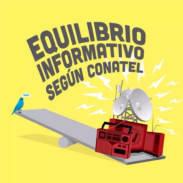 Así es el equilibrio informativo en Venezuela, todo el aparato comunicacional del gobierno versus... http://t.co/y6Vpwmccib
