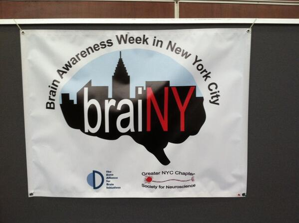 We are here at Staying Sharp at NYU for braiNY part of #brainweek http://t.co/ypZoJeqrUy