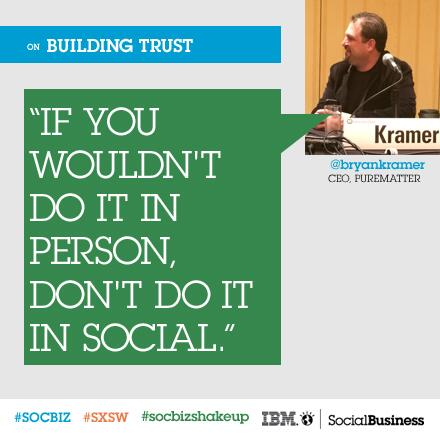 Twitter / IBMSocialBiz: What did @PureMatter CEO ...