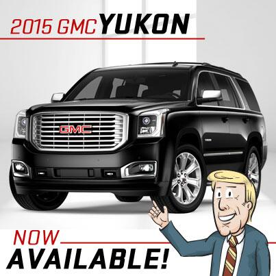 Twitter / ArrowBuickGMC: The new 2015 #GMC #Yukon is ...