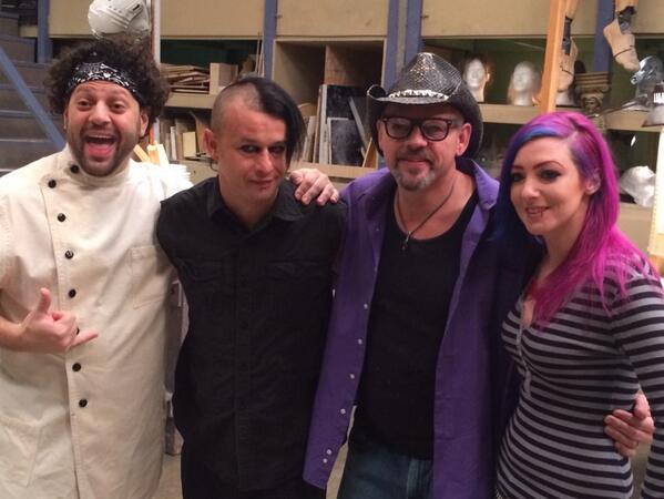They are BACK!  @RjHaddyofficial  @MORBXFX @roywooleyFX @Nicole_Chilelli  - this Tuesday, 3/18 @ 10/9p on @Syfy! http://t.co/Nbls2DHrrR