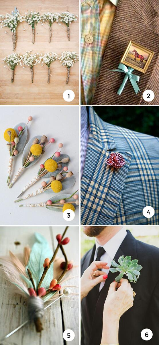 A boutonniere is a great opportunity to add a dash of whimsy to bridal attire! | http://t.co/ZbEb2cos0a | http://t.co/AJ0OlHmFSR