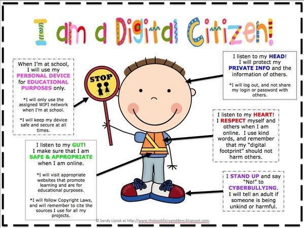 Twitter / TechWeekIRL: I am a Digital Citizen! #edchat ...