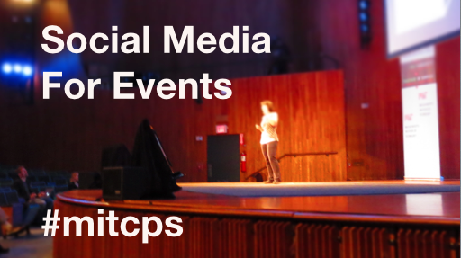 "I'm looking forward to presenting this afternoon on ""Social Media for Events."" http://t.co/J9tU9OS6gG  #mitcps http://t.co/SAvHtST6Zi"
