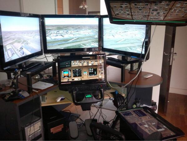 MH370 Captain Zaharie Ahmad Shah Youtube video with flight simulator