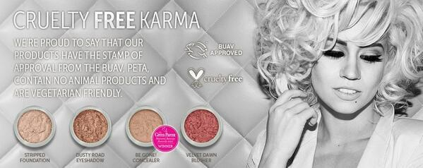 Did you know that ALL @BMcosmetics are vegetarian friendly? #crueltyfree #noanimaltesting #naturalbeauty http://t.co/aeFHTFK1cc