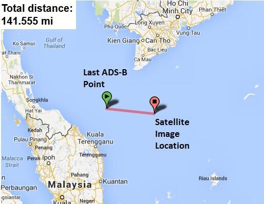 What happened to Malaysian flight 370?  BijmeUNCAAEgDbl