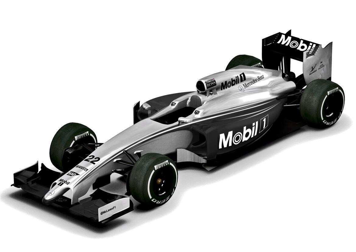 McLaren MP4-29 livrée Mobil 1, Grand Prix d'Australie 2014