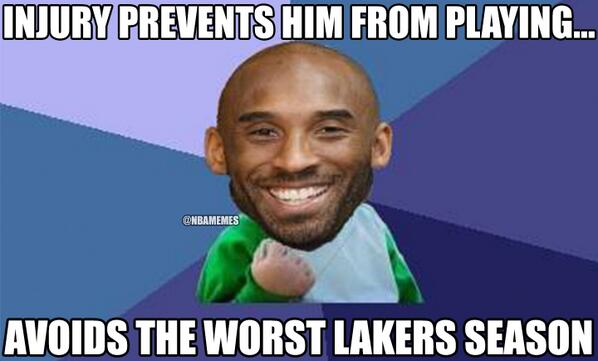 "Kobe Bryant ""Success Kid""! #Lakers http://t.co/HGpWK1aeGu"