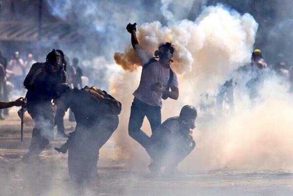 No es Ucrania es la Universidad Central de Venezuela. (Caracas) 12/3/14 http://t.co/4XKKSyMamL