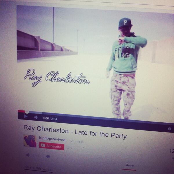 http://t.co/kFePpdOJ6w check out new Ray Charleston video #HipHop http://t.co/cNhanZ8rST