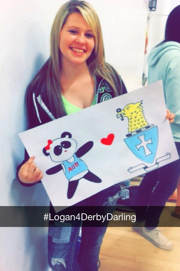 If you're @logantaylor94 doesn't that make you perfect to be Derby Darling? #LoganForDerbyDarling @SJSUSigmaChi http://t.co/LwGr5ziMis