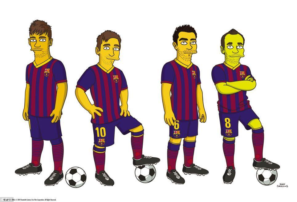 Симпсоны - теперь и с Барселоной - изображение 1