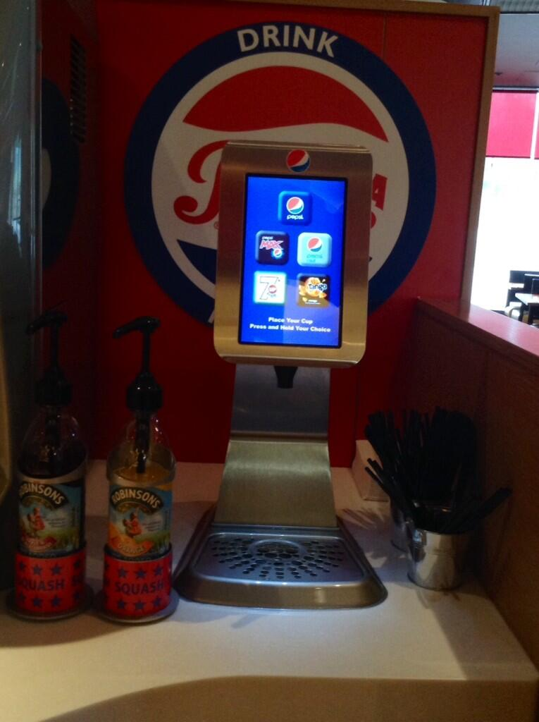 Pizza Hut Crewe On Twitter Our New Self Service Drinks