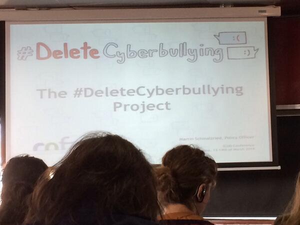 @jordipapiol: Conscienciación sobre el ciberacoso y buenas prácticas @dcycyberbullying @COFACE_EU #icudbcn http://t.co/AMZkhn1V3C