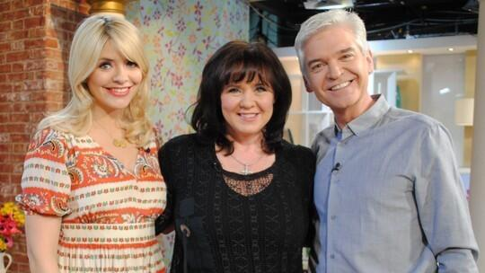 RT @itvthismorning: It's like old times as @NolanColeen joins our @hollywills and @Schofe for a chat! http://t.co/NyGVBv6OzO #NoRegrets htt…