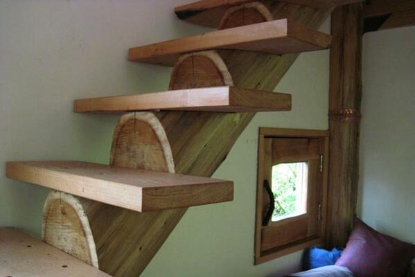 Como Fabricar Escaleras De Madera. Simple Escaleras Hierro C Madera ...