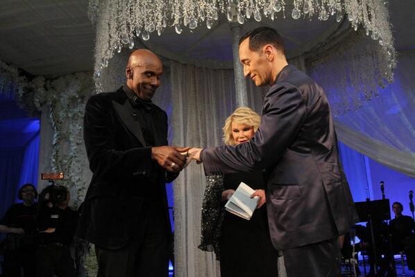We will remember @Joan_Rivers as a wedding officiant. She officiated the wedding of @prestonrbailey & @Theo_Bleckmann http://t.co/bjNlZ4q6Sh