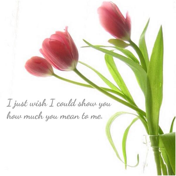 I just wish I could show you how much you mean to me. http://t.co/vGEkIcWkcr