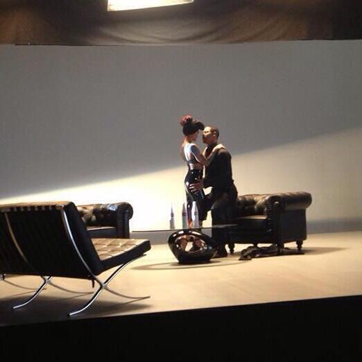 [TEASER PIC] Agnez Mo and Brian White in a scene of Coke Bottle MV. God, I CAN'T wait for this !!! http://t.co/9iNSgs2V1a