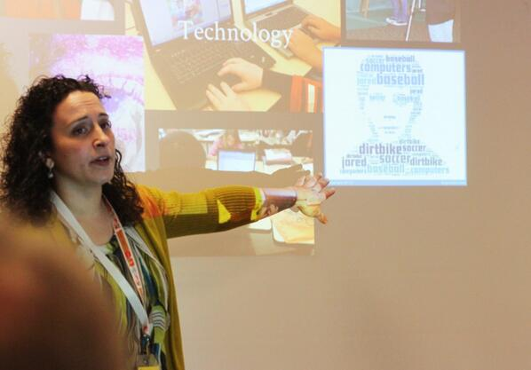 During @campbellartsoup presentation: how she uses technology at #macul14 http://t.co/vojr1xN9U1
