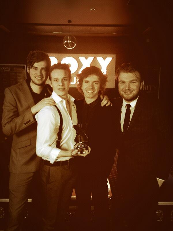 Kinda just went and won some big award about been reyt good or summert. #exposedawards http://t.co/ymjpVXeCC5