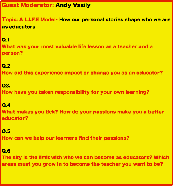 Here are the 6 questions for this week's #Satchatoc. See you all tomorrow morning bright and early! http://t.co/F69RdUiqkG
