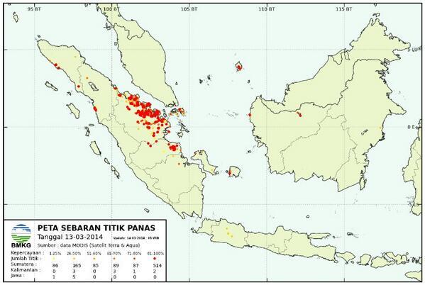 Geram.. #PrayforRiau RT @Aviator_AKBAR: Semalam titik api 29 titik, update jam 5 pagi titik api 1026 titik http://t.co/XWMcdspk33 #saveRiau
