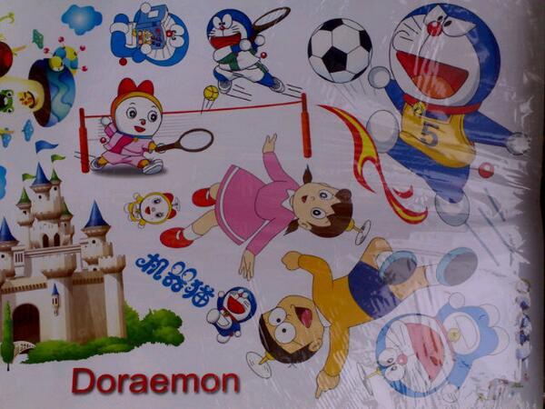 jual wall sticker doraemon di bandung – jual segala