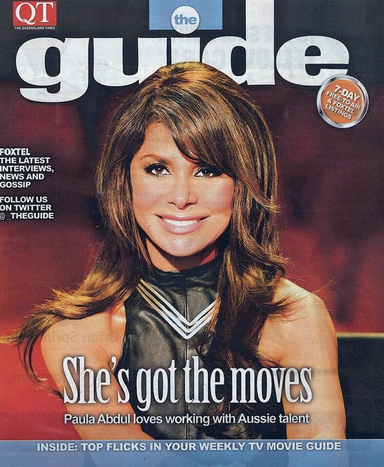 Love the #Aussies! I'm on the cover of @qld_times's The Guide. See the cover story here https://t.co/2riSspY3dt http://t.co/E57WuKwqTV