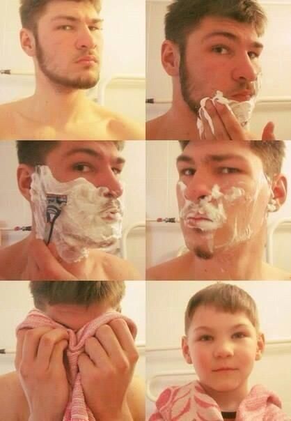 This is what happens when 99% of the male race shaves http://t.co/3NJPZRGcEA