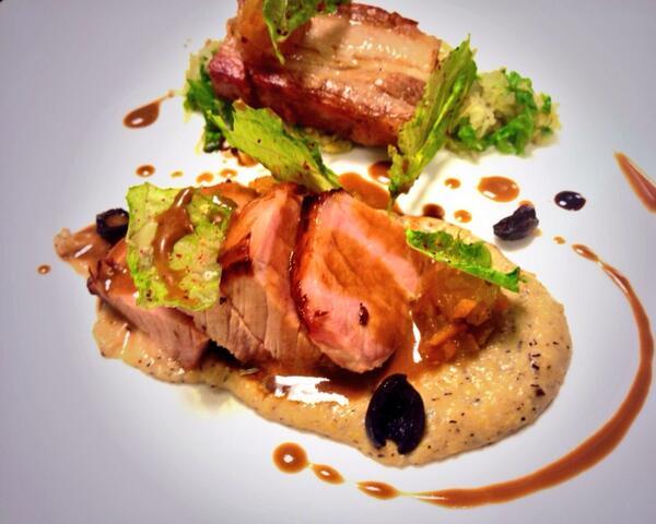 Pork loin & belly @VOLT_AGGIO http://t.co/YPfDxRZN0W