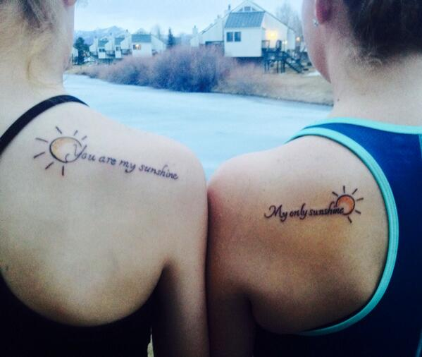 "Kathrine Moore On Twitter: ""Mother Daughter Tattoos: You"